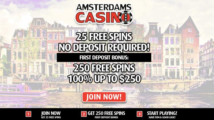 Amsterdam Casino review on Big Bonus Slots