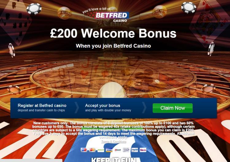 Betfred review on Big Bonus Slots