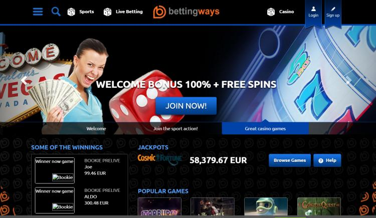 Betting Ways review on Big Bonus Slots