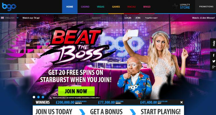 BGO Vegas review on Big Bonus Slots