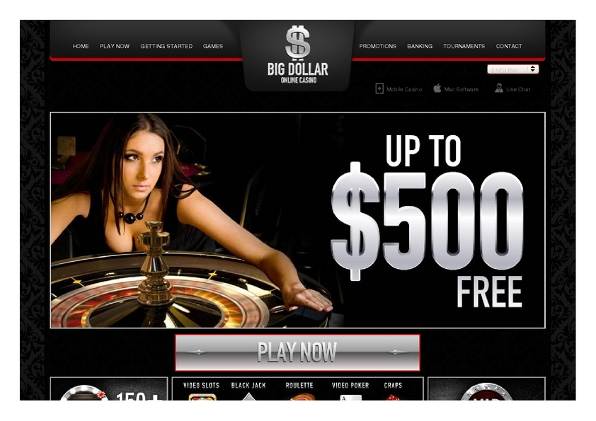 Big Dollar review on Big Bonus Slots