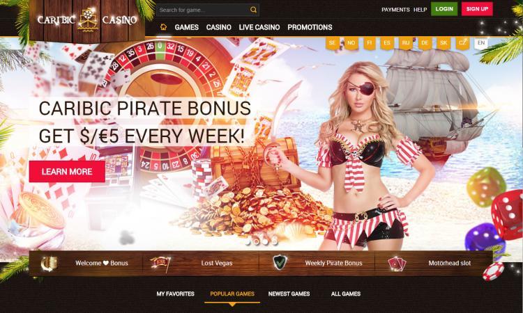 Caribic review on Big Bonus Slots