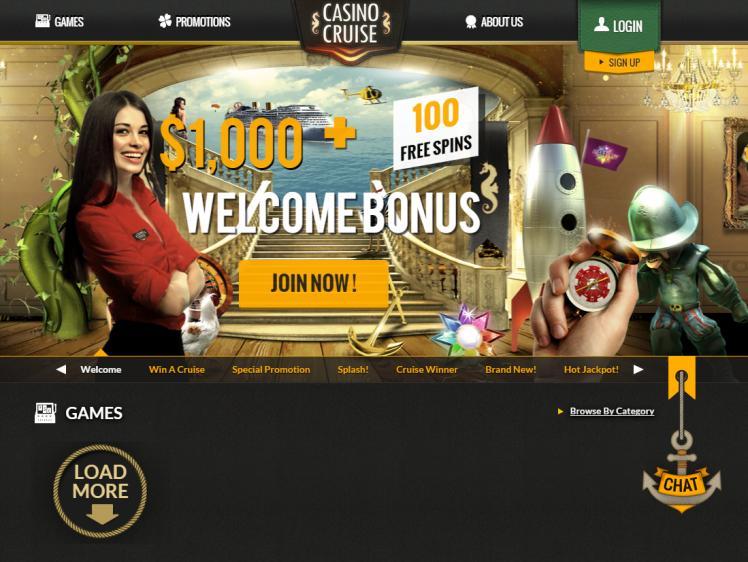 Casino Cruise review on Big Bonus Slots