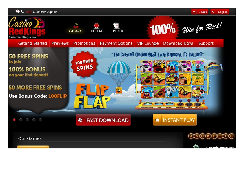 Casino Red Kings review on Big Bonus Slots