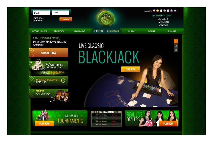 Celtic review on Big Bonus Slots