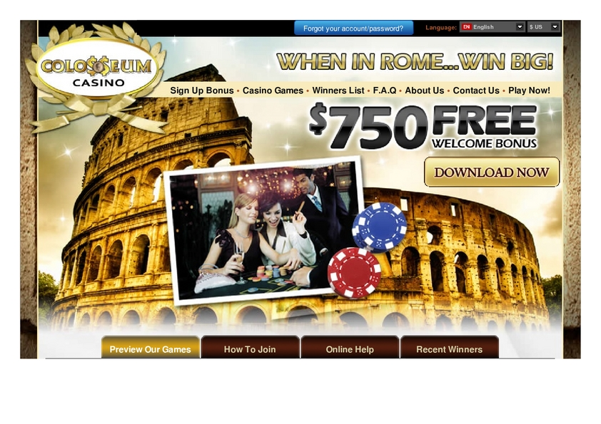 Colosseum review on Big Bonus Slots