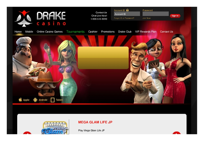 Drake review on Big Bonus Slots
