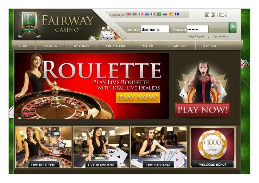 Fairway review on Big Bonus Slots