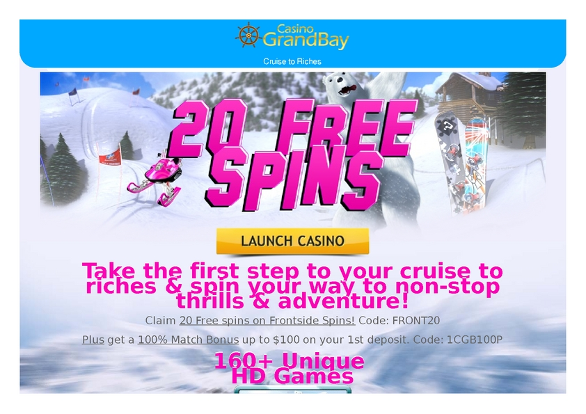 Grand Bay review on Big Bonus Slots