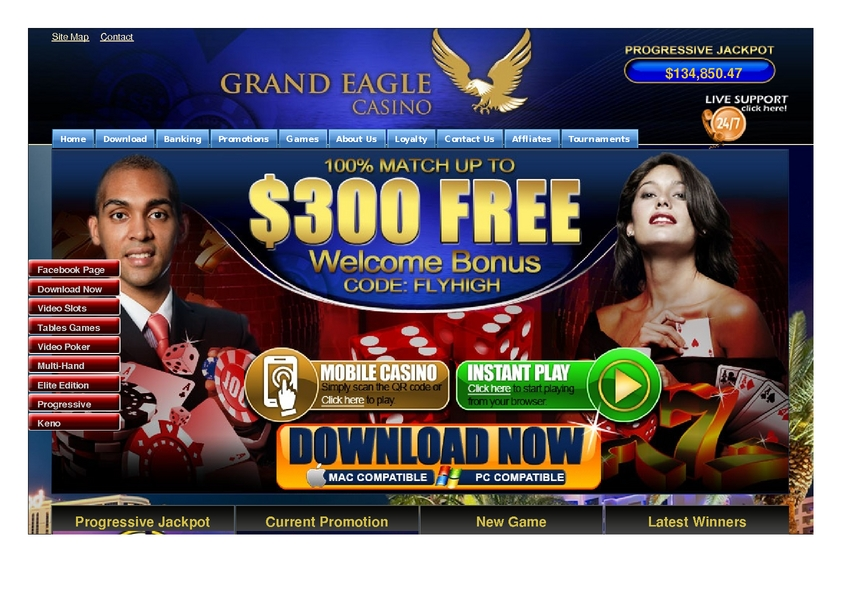 Grand Eagle review on Big Bonus Slots