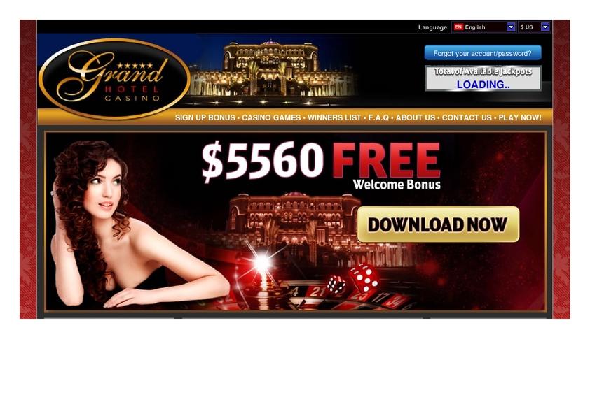Grand Hotel review on Big Bonus Slots