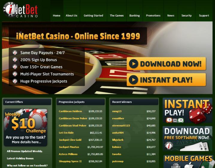 iNET Bet review on Big Bonus Slots