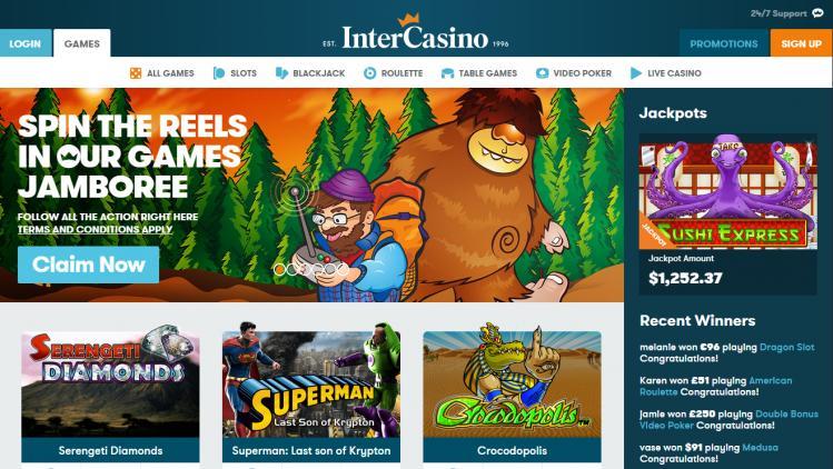 Intercasino review on Big Bonus Slots