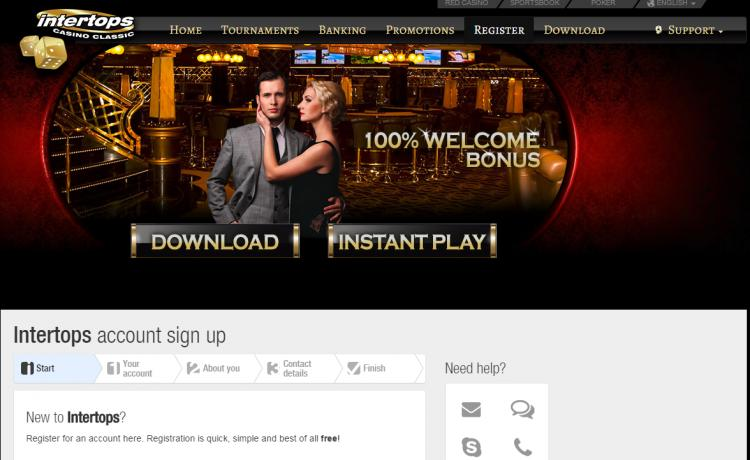 Intertops Classic review on Big Bonus Slots