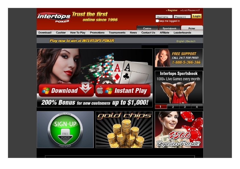 Intertops review on Big Bonus Slots
