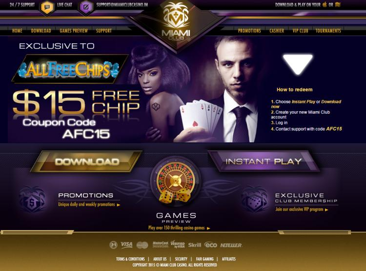Miami Club review on Big Bonus Slots