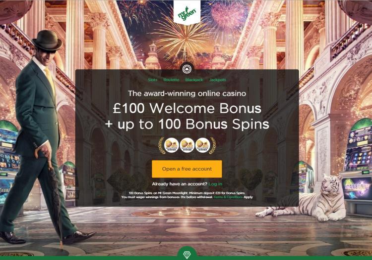 Mr Green review on Big Bonus Slots