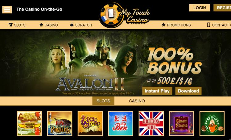 My Touch review on Big Bonus Slots