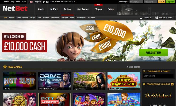 NetBet review on Big Bonus Slots