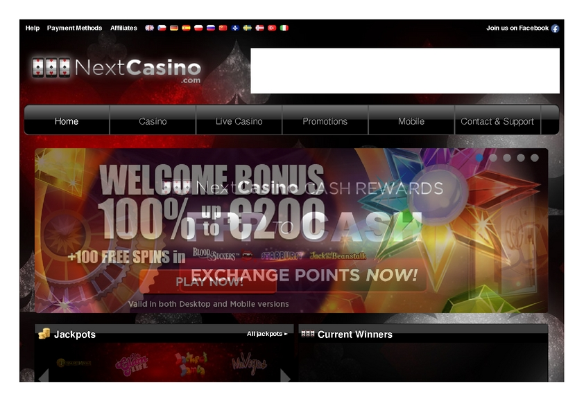 Next Casino review on Big Bonus Slots
