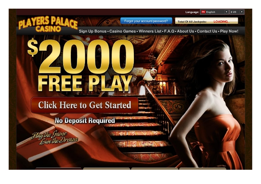 Players Palace review on Big Bonus Slots