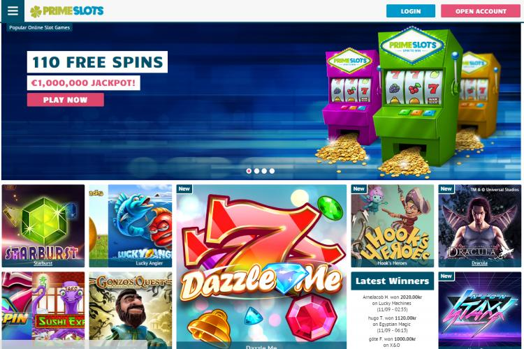 Prime Slots review on Big Bonus Slots