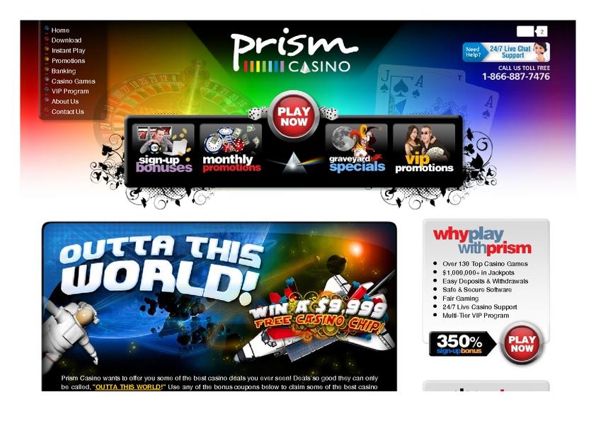 Prism review on Big Bonus Slots