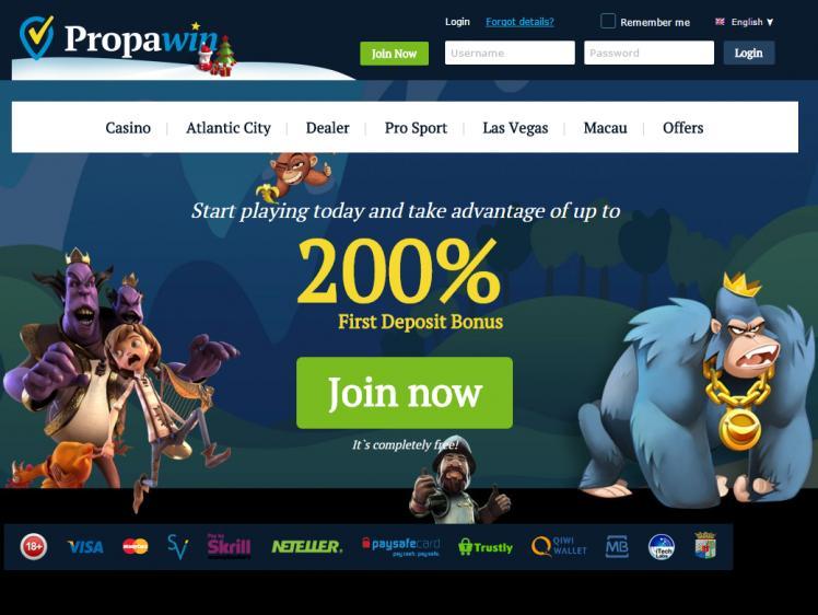 PropaWin review on Big Bonus Slots