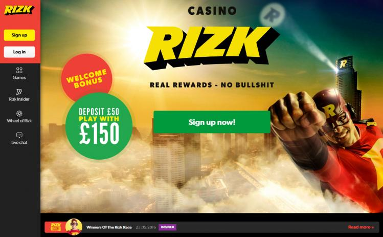 Rizk review on Big Bonus Slots