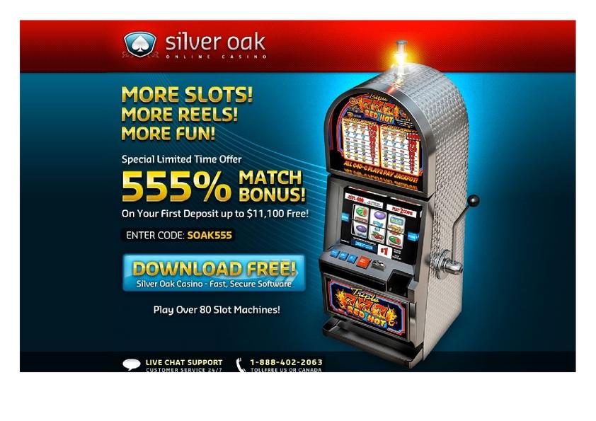 Siver Oak review on Big Bonus Slots