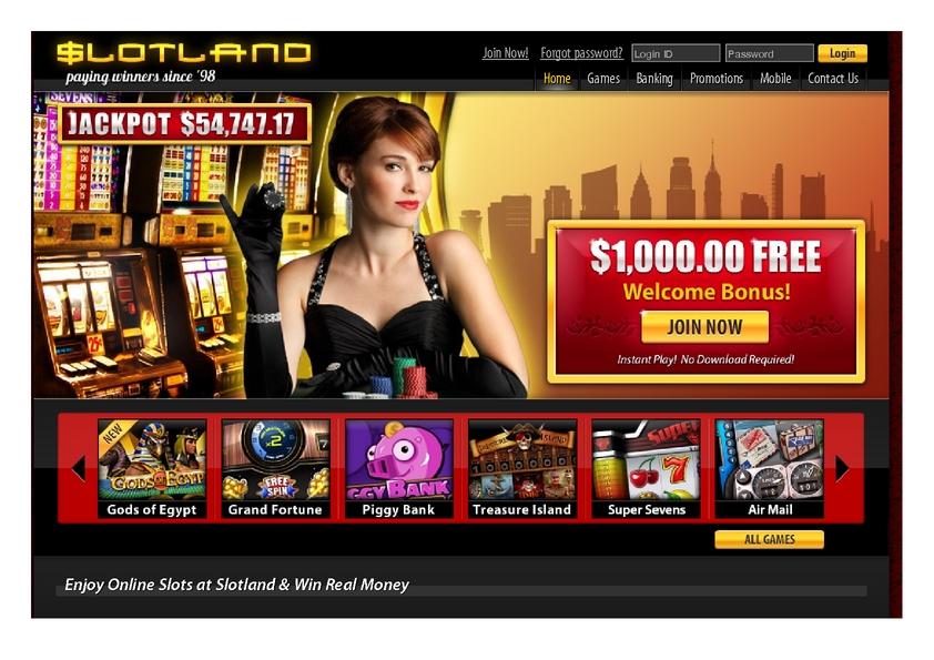 Slotland review on Big Bonus Slots