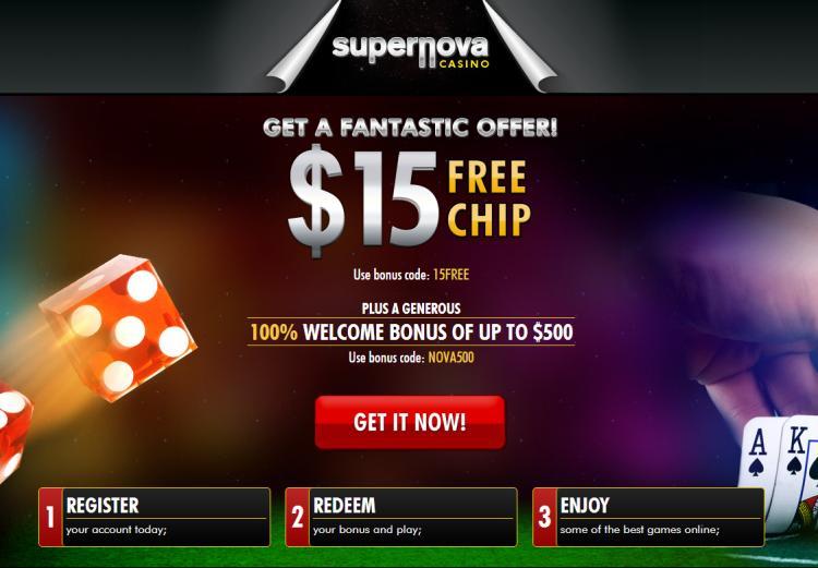 Supernova review on Big Bonus Slots