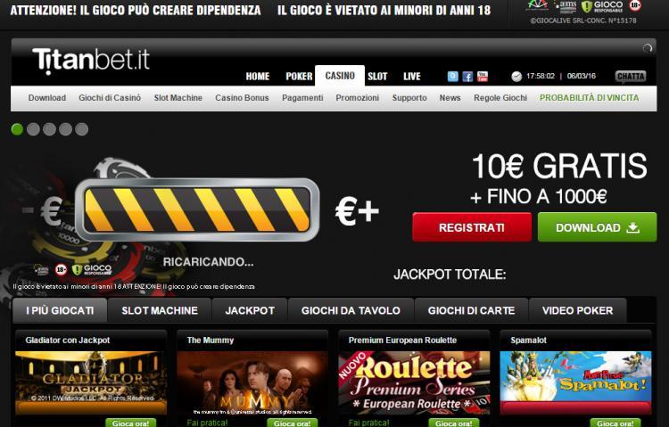 Titanbet.it review on Big Bonus Slots