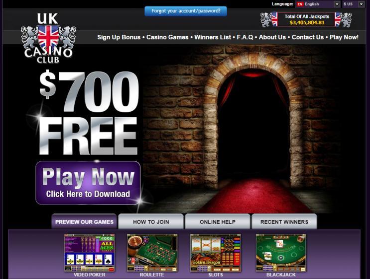 UK Casino Club review on Big Bonus Slots