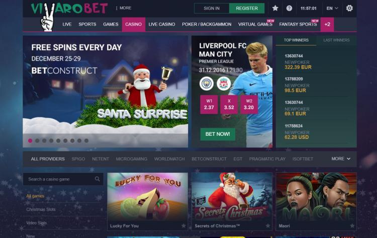 Vbet Casino review on Big Bonus Slots