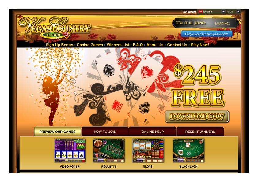 vegas country casino