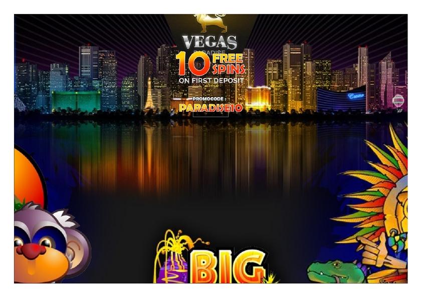 Vegas Paradice review on Big Bonus Slots