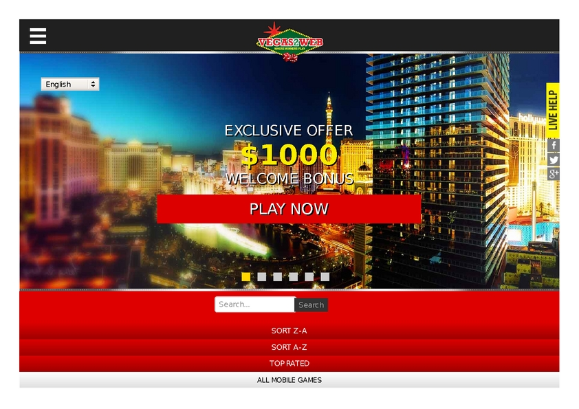 Vegas2Web review on Big Bonus Slots
