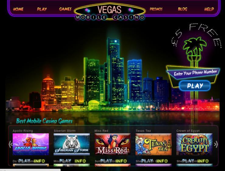 VegasMobile review on Big Bonus Slots