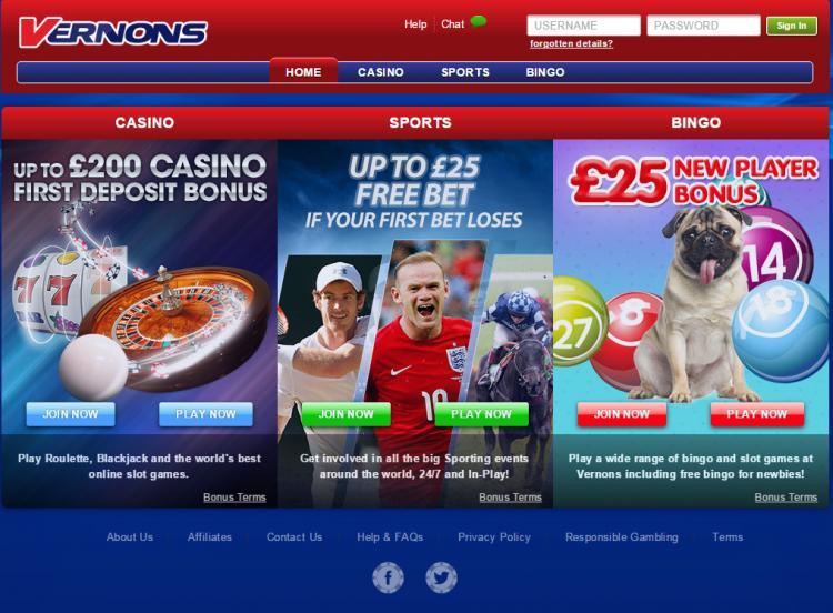 Vernons review on Big Bonus Slots