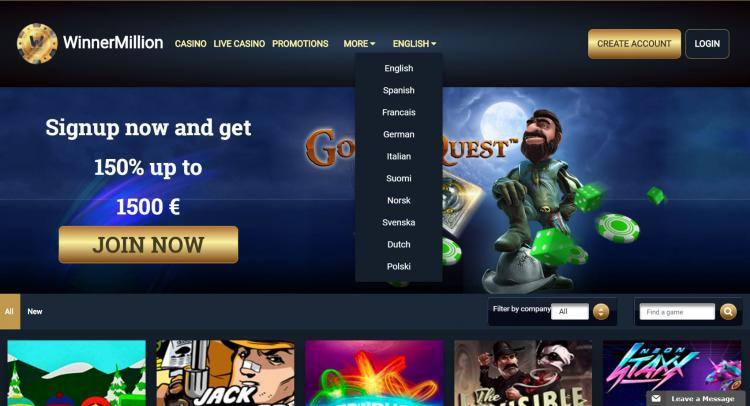 Winner Million review on Big Bonus Slots