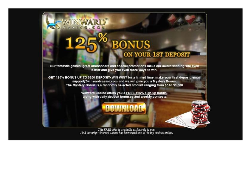 Winward review on Big Bonus Slots