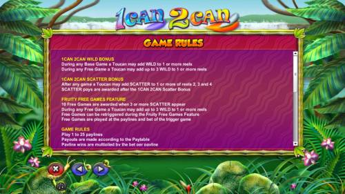 1 can 2 can review on Big Bonus Slots