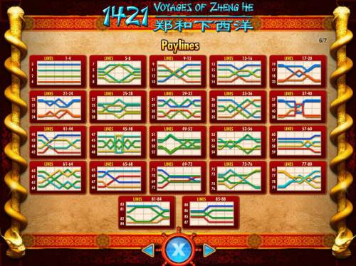 1421 Voyages of Zheng He review on Big Bonus Slots