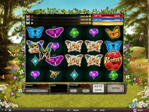 3 Butterflies review on Big Bonus Slots