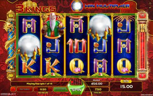 3 Kings review on Big Bonus Slots