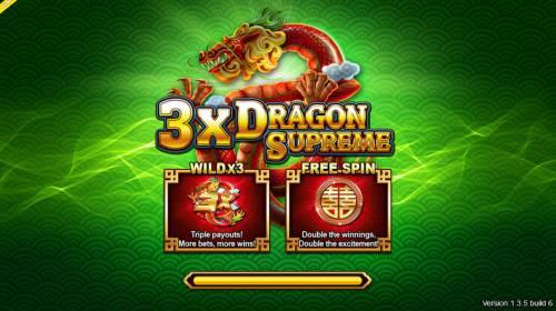3x Dragon Supreme Big Bonus Slots Introduction