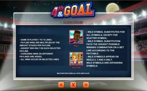 4th and Goal review on Big Bonus Slots