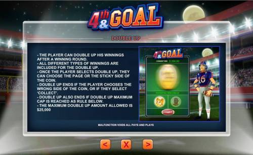 4th and Goal review on Big Bonus Slots