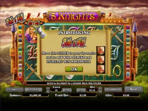 5 Knights review on Big Bonus Slots